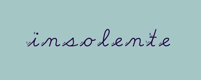Insolente - Logo