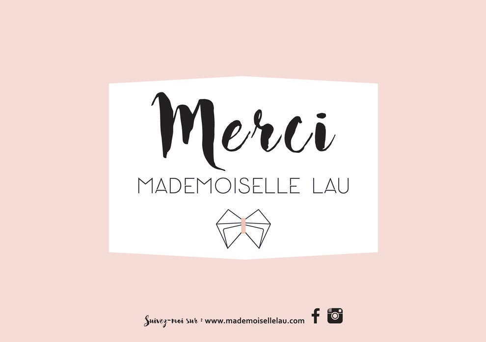 Mademoiselle Lau Box Merci