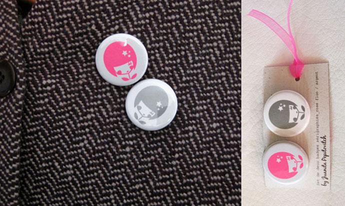 Flower Girl - Badges