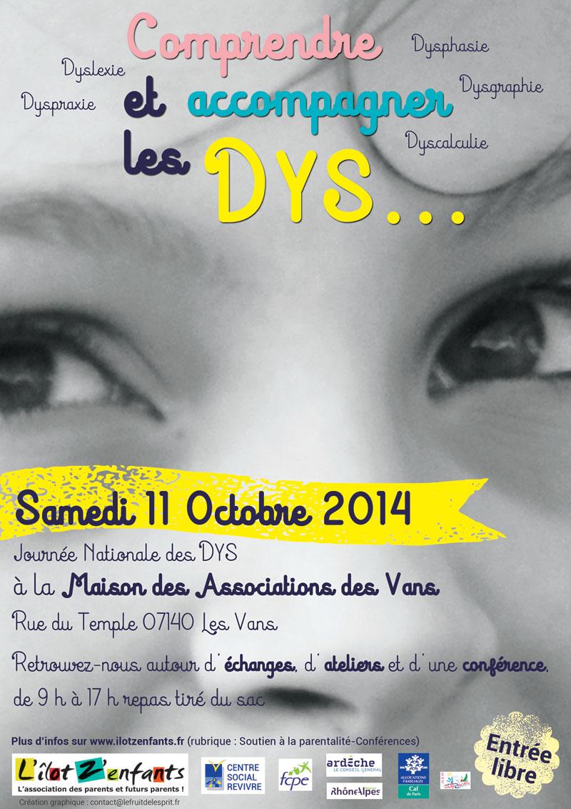 Journée nationale des DYS - Affiche
