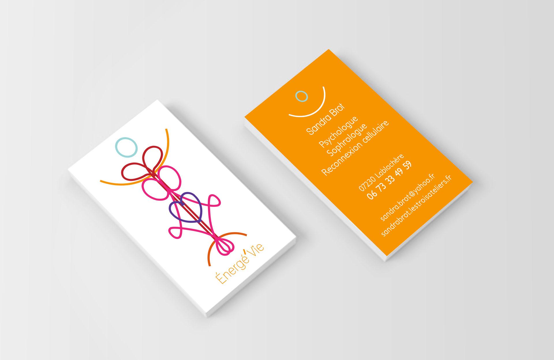 Sandra Brot - Carte de visite