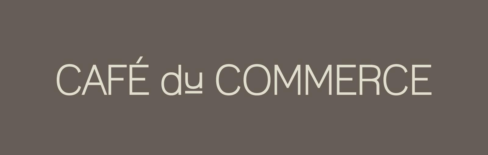 Café du Commerce - Enseigne