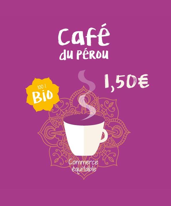 Kaba Nature - Création de visuels - Café du Pérou